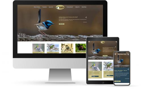 Inala Nature Tours website project